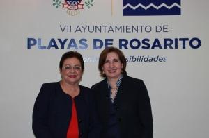 Acuerdan trabajar en conjunto Inmujer y Ayuntamiento de Playas de Rosarito