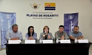 Invertirán 23 MDP para 15 diversas obras en Playas de Rosarito