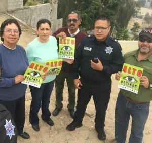 """Activan en Tijuana el programa """"Vecino Vigilante"""""""