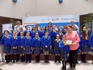 Cuatro planteles de Rosarito participarán en concurso estatal del Himno Nacional Mexicano